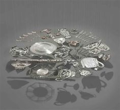 Cornelia Parker, Thirty pieces of silver (Exhaled)