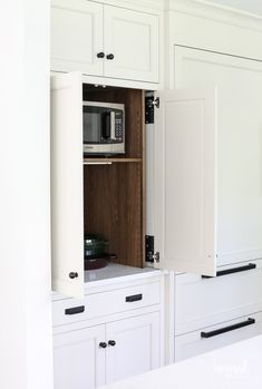 Bayberry Kitchen Remodel Reveal - Inspired by Charm Kitchen Makeover Kitchen Storage, Tall Cabinet Storage, Kitchen Decor, Kitchen Design, Kitchen Ideas, Kitchen Colors, Kitchen Organization, Inspired By Charm, Bathroom Cabinetry