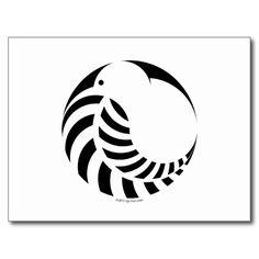 NZ Kiwi / Silver Fern Emblem