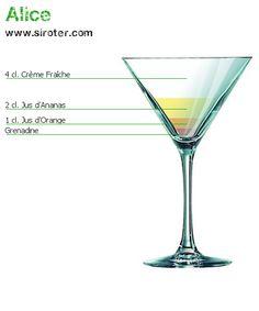 Recette Cocktail ALICE