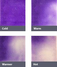Watercolor - Color changing tile! One color when cold and changes to white as they heat up! Add to cart!