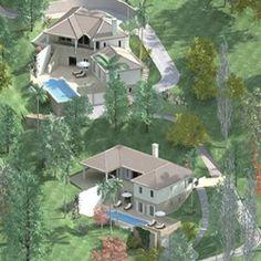 impressie 2 villa's