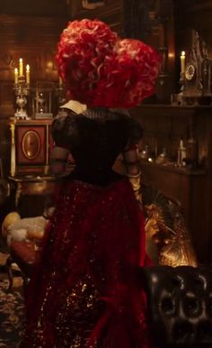 Alice through the Looking Glass: The Red Queen