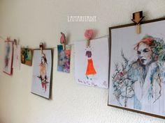 Lamarita DIY: Pinzas decoradas con fieltro