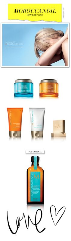 New Moroccanoil Body Products! Its here! Come and indulge yourself.  Available at Spa On The Square!