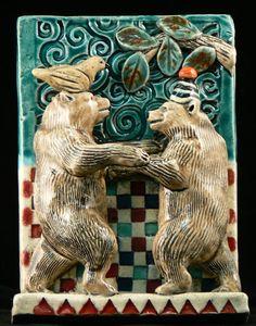Dancing Bears Tile