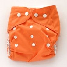 "Snugglybum OSFA Pocket ""Orange"""