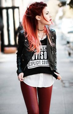 71c416b0e805228d35d3c148d16a0f59--red-ombre-hair-black-to-red-hair.jpg (494×765)