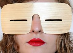 Slanties, based on ancient Inuit eyewear