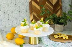 Easter Egg Cheesecake: Mini Egg Cheesecake Recipe — Sugar & Cloth Basket Lighting, Lemon Frosting, Diy Pendant Light, Easy Cupcake Recipes, Lemon Cupcakes, Diy Flooring, Lemon Recipes, Diy Hanging, How To Make Paper