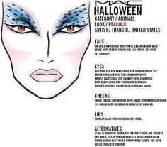 TONS of MAC Halloween FACE CHARTS - Beautynewbie | DIY | Pinterest ...
