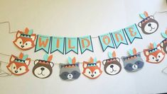 Wild one birthday tribal animals tribal woodland party Boys First Birthday Party Ideas, Wild One Birthday Party, Baby Boy Birthday, Animal Birthday, Boy Birthday Parties, Fairy Birthday, Tribal Animals, Woodland Party, Wild Ones