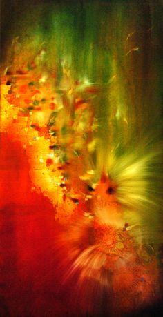 Vibrant colors, innovative technique.  Britten