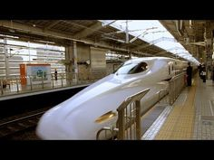 A ride on the Japan Rail N700 Shinkansen from Tokyo to Kyoto and back.