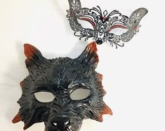 Masquerade Mask Women, Couples Masquerade Mask from USA by HigginsCreek Couples Masquerade Masks, Masquerade Ball, Costume Birthday Parties, Carnival Festival, Magic Art, Hand Designs, Mardi Gras, Halloween Party, Etsy Seller
