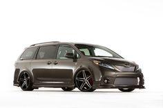 2015 Toyota Sienna DUB Edition, SEMA 2014. See more on Motor Authority
