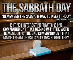 The Sabbath Day? Remember or have we forgotten?[Mind u, what u do during the Sabbath is more important than which day u designate as ur Sabbath! Sabbath Day Holy, Sabbath Rest, Happy Sabbath, Bible Quotes, Bible Verses, Scriptures, Faith Quotes, Hebrew Bible, Scripture Art