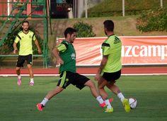 Isco, en Las Rozas con la selección para los partidos frente a Francia y Macedonia en 2014 #seleccionespanola #LaRoja #diariodelaroja