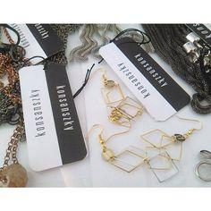 #konsánszky #style #earrings #nice #gold #fashionstyle #onefashionagency  https://www.facebook.com/Konsanszky.fashion?fref=ts
