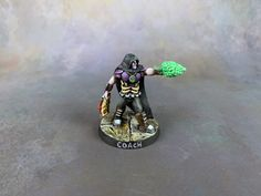 My Blood Bowl coach that I sculpted is now painted. He'll be my coach for both my Undead and Necromantic teams. Enjoy the pictures. Blood Bowl, Sculpting, Sculpture, Sculptures