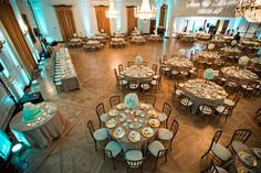 Richard Nixon Library Wedding Reception with Mint and Gold Colors, Richard Nixon…