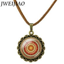 Online shopping for Mandala Necklace with free worldwide shipping