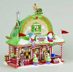 DEPT 56 NORTH POLE VILLAGE *GENERAL STORE* 56797 RETIRED MINT IN BOX | eBay