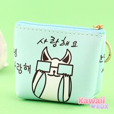 From September Box!  This sweet purse is perfect for all things small & cute! ► http://www.kawaiibox.com/kawaii-box-september-2016/