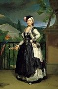 """New artwork for sale! - """" Portrait Of Isabel Parrena Arce Ruiz De Alarcon Y Valdes Marquesa De Llano 1770 by Mengs Anton Raphael """" - http://ift.tt/2mpmBIy"""