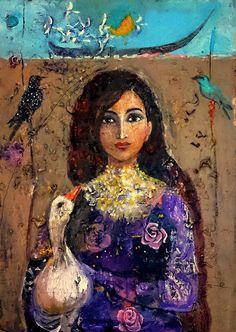 الفنان العراقي علي ال تاجر