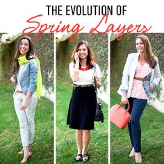 #CAbi - See how to perfectly layer our Spring Collection