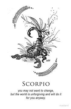 Scorpio - Shitty Horoscopes Book III: Petty Existential Crises by musterni