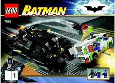 Batman - The Bat Tumbler: Jokers Ice Cream Surprise [Lego 7888]