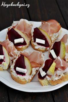 Domácí vekové chlebíčky s vlašským salátem - Meg v kuchyni