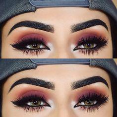 ❤️ @rija_imran   BROWS: #dipbrow in Ebony   EYES: Modern Renaissance palette   #modernrenaissance  #anastasiabrows   > More Info:   makeupexclusiv.blogspot.com  