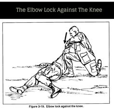 Elbow Lock Against The Knee | Self Defense Tips-  Don't try these delf defense tips at home kiddos :)