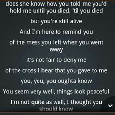 You Oughta Know - Alanis Morissette  One of the best breakup songs ever