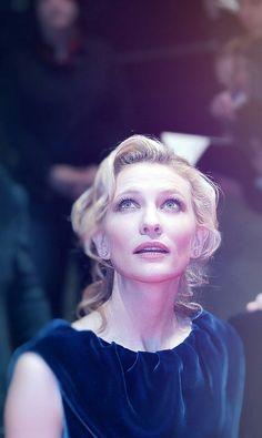 Cate Blanchett - 55th Berlin Film Festival . MIRADA DE ANGEL