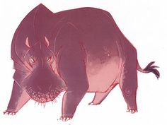 BAUER POWER!: Hippos: The Legend of Tembo Character Design