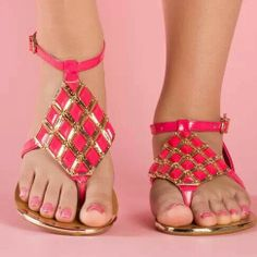 Shop affordable trendy flat shoes for women at shoespie. You can find various of cute flat shoes for huge discount including rhinestone thong flat sandals, rhinestone gladiator flats, embellished leather flat shoes. Page 3 Cute Flats, Cute Sandals, Flat Sandals, Cute Shoes, Shoes Sandals, Summer Sandals, Flat Shoes, Summer Shoes, Summer Outfits