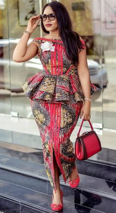 2019 African Fashion: Gorgeous and Trendy Asoebi Styles Best African Dresses, Latest African Fashion Dresses, African Print Dresses, African Print Fashion, Africa Fashion, African Attire, Ankara Fashion, Latest Dress Styles, African Wear For Ladies