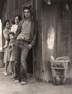 """""""How can you frighten a man whose hunger is not only in his own cramped stomach but in the wretched bellies of his children? You can't scare him—he has known a fear beyond every other.""""- John Steinbeck, The Grapes of Wrath 1939"""