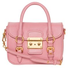 Sweet in color and appearance, this satchel is a great add on to any outfit!