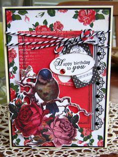 Artfull Crafts: Christine - Porcelain Rose Cards