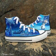 333930c1cc49 Frozen Shoes. Disney ConverseCool ConverseDisney ShoesCustom ...