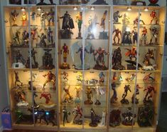 Action Figure Display @Cassandra Dowman Meyers