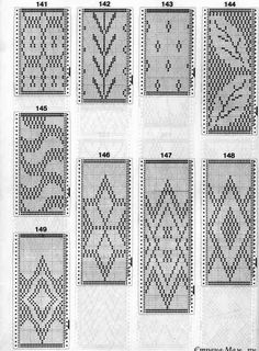 ale G.'s media content and analytics Knitting Machine Patterns, Fair Isle Knitting Patterns, Knitting Charts, Loom Knitting, Knitting Stitches, Mochila Crochet, Tapestry Crochet Patterns, Inkle Loom, Pixel Pattern
