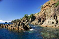 Warkworth - Goat Island Marine Reserve - Cape Rodney rocks #GreatFoodRace