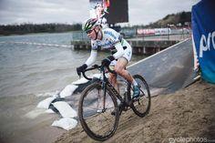 Thalita de Jong wins Waaslandcross   06.02.2016 bpost bank trofee 8 Sint-Niklaas by Balint Hamvas cyclephotos.co.uk