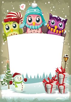 FECNIKÉK: ~~ Cute owl frame